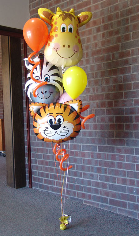 Animal balloons mumbai balloon decorations for Balloon decoration in mumbai