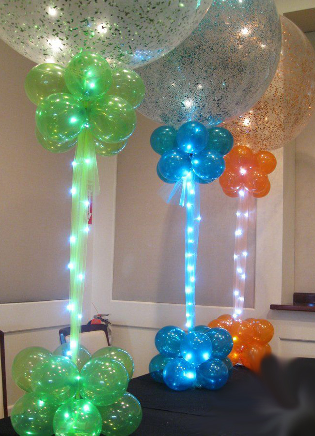 Birthday balloons mumbai balloon decorations for Balloon decoration company